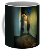 Girl With A Candle Coffee Mug