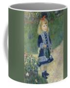 Girl With A Watering Can Coffee Mug