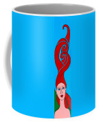 Girl With Celtic Hair Coffee Mug