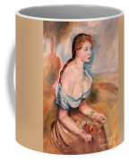 Girl With Dasies Coffee Mug