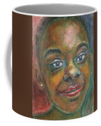 Girl With Diamond Earrings Coffee Mug