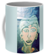 Girl With Ear Rings Coffee Mug