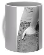 Girl With Hand In Back Pocket Coffee Mug