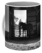 Girl With Horse Coffee Mug