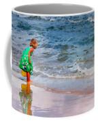 Girl With Pail Coffee Mug