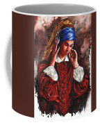 Girl With The Poor Hearing Coffee Mug