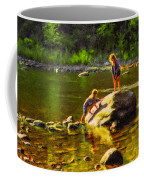 Girlfriends Impasto Coffee Mug