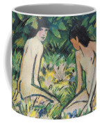 Girls In The Open Air Coffee Mug by Otto Mueller or Muller