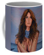 Gisele Bundchen Painting Coffee Mug
