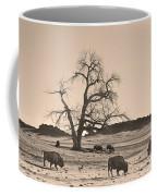 Give Me A Home Where The Buffalo Roam Sepia Coffee Mug