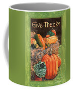 Give Thanks Coffee Mug