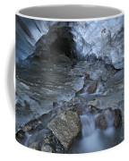 Glacial Creek Flowing From Blue Ice Coffee Mug
