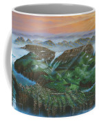 Glacier Castle Ruins Coffee Mug