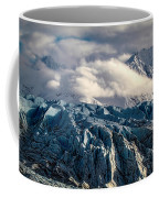 Glacier In The Clouds Coffee Mug