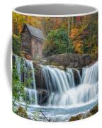 Glade Creek Grist Mill And Waterfalls Coffee Mug