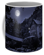 Glade Creek Grist Mill At Night Coffee Mug