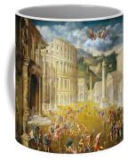 Gladiators Fighting Coffee Mug