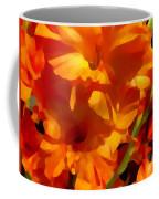 Gladiola Coral Coffee Mug