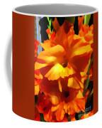 Gladiola Up Close Impression Coffee Mug