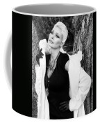 Glamour Bw Palm Springs Coffee Mug by William Dey