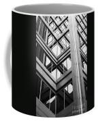 Glass And Steel Coffee Mug