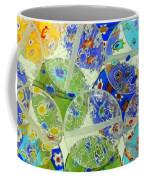 Glass Beads Abstract Coffee Mug
