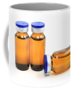 Glass Bottles With Medicine  Coffee Mug