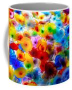 Glass Flowers Coffee Mug