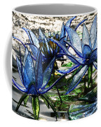 Glass Lilies Coffee Mug