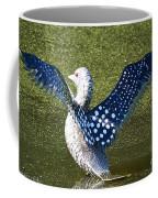 Glass Loon Coffee Mug