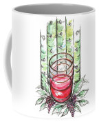 Glass Rosy Wine Coffee Mug