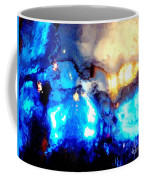 Glass Vase Abstract Coffee Mug