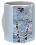 Glen Cove American Flag Coffee Mug