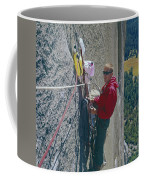 T-306607-glen Denny With Me On El Cap First Ascent 1962 Coffee Mug