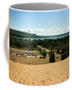 Glen Lake From The Dune Climb Coffee Mug