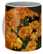 Glorious Golden Mums Coffee Mug