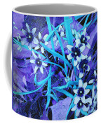 Glory Of The Snow - Violet And Turquoise Coffee Mug