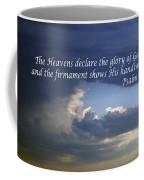 Glory To God   Psalm 10 1 Coffee Mug