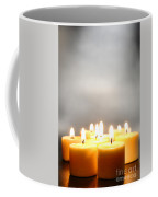 Glow And Smoke Coffee Mug by Olivier Le Queinec