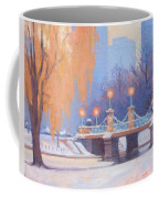 Glow On The Bridge Coffee Mug