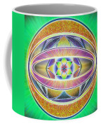 Glow Sphere Delta Coffee Mug by Derek Gedney