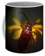 Glowing Beetle Coffee Mug