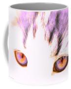 Glowing Cat Eyes Coffee Mug