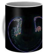 Glowing Choo Choo In Lights Abstract  Coffee Mug