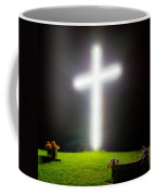 Glowing Cross Coffee Mug