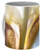 Glowing Details. Macro Iris Series Coffee Mug