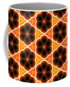 Glowing Floral Pattern Coffee Mug