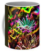 Glowing Flower Coffee Mug