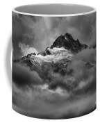 Glowing Glaciers In The Tantalus Range Coffee Mug