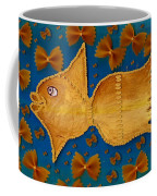 Glowing  Gold Fish Coffee Mug
